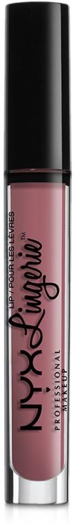 Жидкая матовая помада - NYX Professional Makeup Lip Lingerie Liquid Lipstick