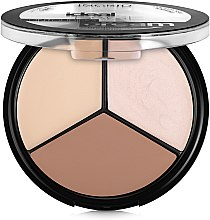 Духи, Парфюмерия, косметика Палетка для контурирования лица - Ingrid Cosmetics Ideal Face Countouring Cream