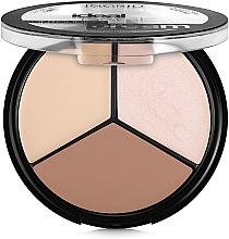 Парфумерія, косметика Палетка для контурування обличчя - Ingrid Cosmetics Ideal Face Countouring Cream