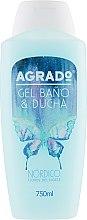 Духи, Парфюмерия, косметика Гель для ванны и душа - Agrado Nordic Shower Gel