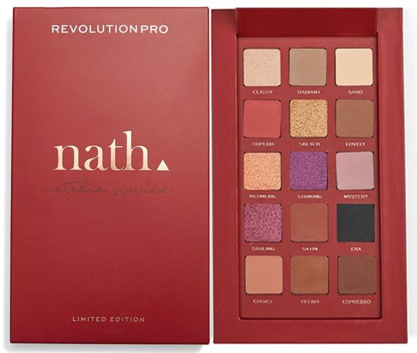 Палетка теней для век - Revolution Pro X Nath Eyeshadow Palette