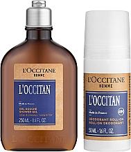 Духи, Парфюмерия, косметика L'Occitane Eau de L'Occitan - Набор (sh/gel/250ml + deo/50ml + pouch)
