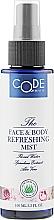 Духи, Парфюмерия, косметика Освежающий тоник для лица и тела - Code Of Beauty Face & Body Refreshing Mist