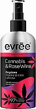 Духи, Парфюмерия, косметика Спрей для тела и волос - Evree Cannabis & Rose Wine Mist for Body and Hair