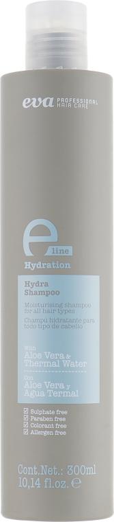 Увлажняющий шампунь для всех типов волос - Eva Professional E-line Hydration Shampoo
