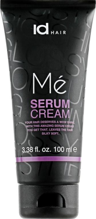 Крем-сыворотка для блеска и смягчения волос - idHair ME Serum Cream