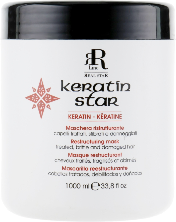 Маска для реконструкции волос - RR Line Keratin Star