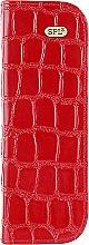 Духи, Парфюмерия, косметика Футляр для парикмахерских инструментов, 77404, лаковый, красный - SPL