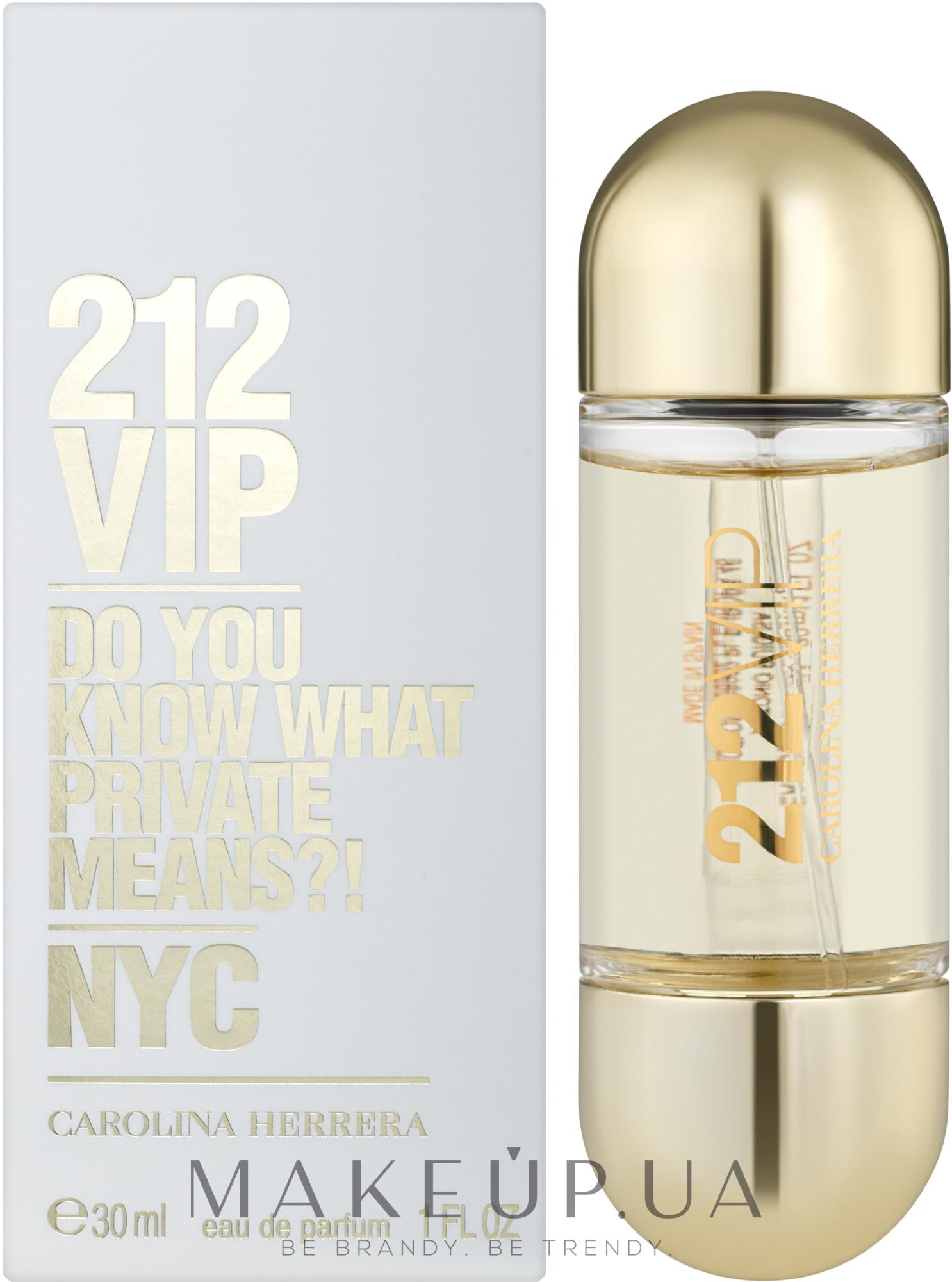 Carolina Herrera 212 VIP - Парфюмированная вода — фото 30ml