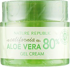 Духи, Парфюмерия, косметика Гель-крем для лица, освежающий - Nature Republic California Aloe Vera 80% Gel Cream