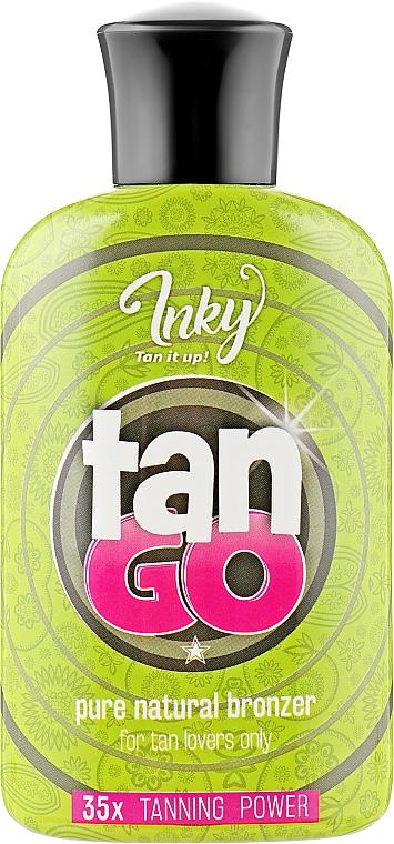 Крем для загара в солярии с формулой ускоренного загара - Inky Tan To Go Pure Natural Bronzer 35X