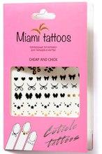 Духи, Парфюмерия, косметика Флеш-тату для пальцев и ногтей - Miami Tattoos Cheap and Chick