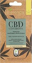 Духи, Парфюмерия, косметика Маска для жирной и комбинированной кожи - Bielenda CBD Cannabidiol Moisturizing & Detoxifying Mask