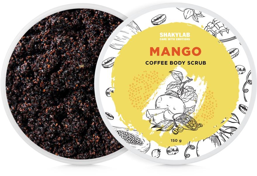"""Кофейный скраб для тела """"Mango"""" - SHAKYLAB Coffee Scrub Mango"""