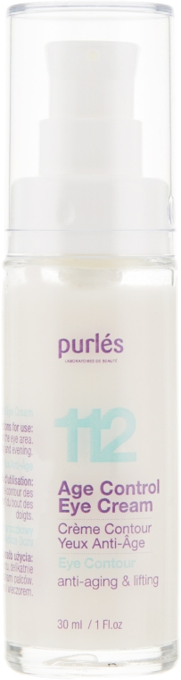 """Крем для век """"Контроль молодости"""" - Purles 112 Age Control Eye Cream"""