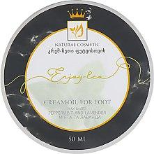 """Духи, Парфюмерия, косметика Натуральное крем-масло для ног """"Мята и лаванда"""" - Enjoy & Joy Enjoy Eco Cream-oil For Foot"""