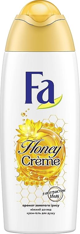 """Крем-гель для душа """"Honey"""" """"Золотой ирис"""" - Fa Honey Golden Iris Scent Shower Cream"""
