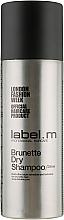 Духи, Парфюмерия, косметика Сухой шампунь для брюнеток - Label.m Brunette Dry Shampoo