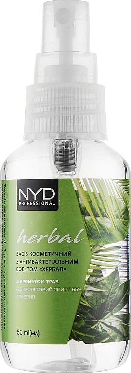 Антисептик с ароматом трав - NYD Professional Herbal