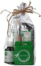 Духи, Парфюмерия, косметика Набор №4 - Ecocera (powder/10g+concent/100ml+mask/100g+brush)