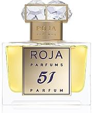 Духи, Парфюмерия, косметика Roja Parfums 51 Pour Femme - Духи (тестер с крышечкой)
