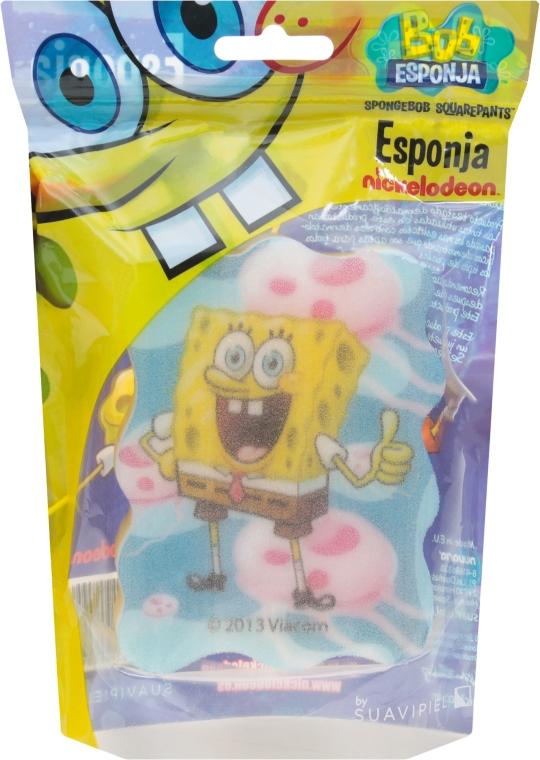 """Мочалка банная детская """"Спанч Боб"""" 5 - Suavipiel Sponge Bob Bath Sponge"""