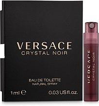 Духи, Парфюмерия, косметика Versace Crystal Noir - Туалетная вода (пробник)