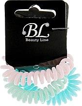 Духи, Парфюмерия, косметика Набор резинок для волос, 405004, голубая+светло-розовая+мятная - Beauty Line