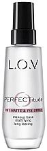 Духи, Парфюмерия, косметика Спрей для лица - L.O.V PERFECTitude 3in1 Matte & Fix Spray