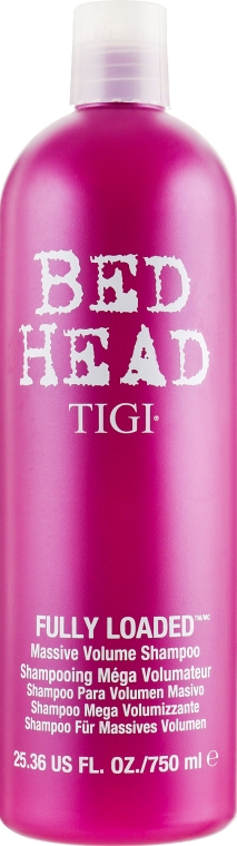 "Шампунь ""Для объема"" волос - Tigi Bed Head Fully Loaded Massive Volume Shampoo"
