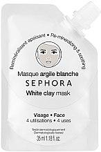 """Духи, Парфюмерия, косметика Маска для лица """"Белая глина: Восстановление минерального баланса кожи"""" - Sephora White Clay Face Mask"""
