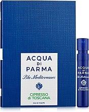 Духи, Парфюмерия, косметика Acqua di Parma Blu Mediterraneo-Cipresso di Toscana - Туалетная вода (пробник)