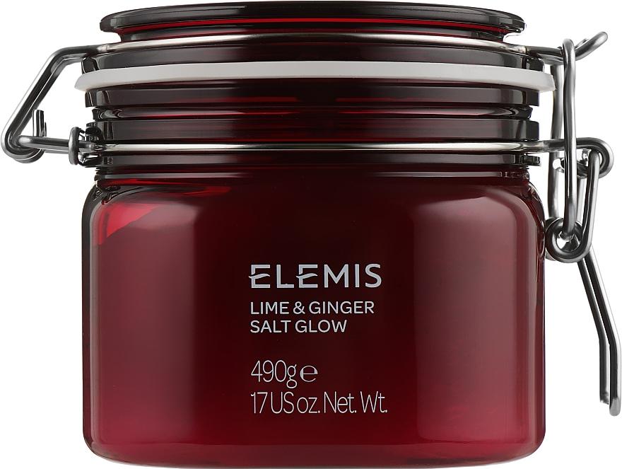 """Солевой пилинг для тела """"Лайм-имбирь"""" - Elemis Exotic Lime & Ginger Salt Glow"""