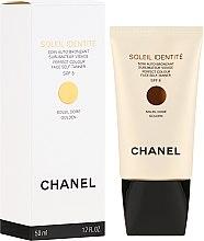 Парфумерія, косметика Засіб для автозагара - Chanel Precision Soleil Identite Soin Auto-Bronzant Spf 8