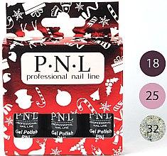 Духи, Парфюмерия, косметика Набор лаков для ногтей - PNL Professional Nail Line Gel Kit (nail/3x7ml)