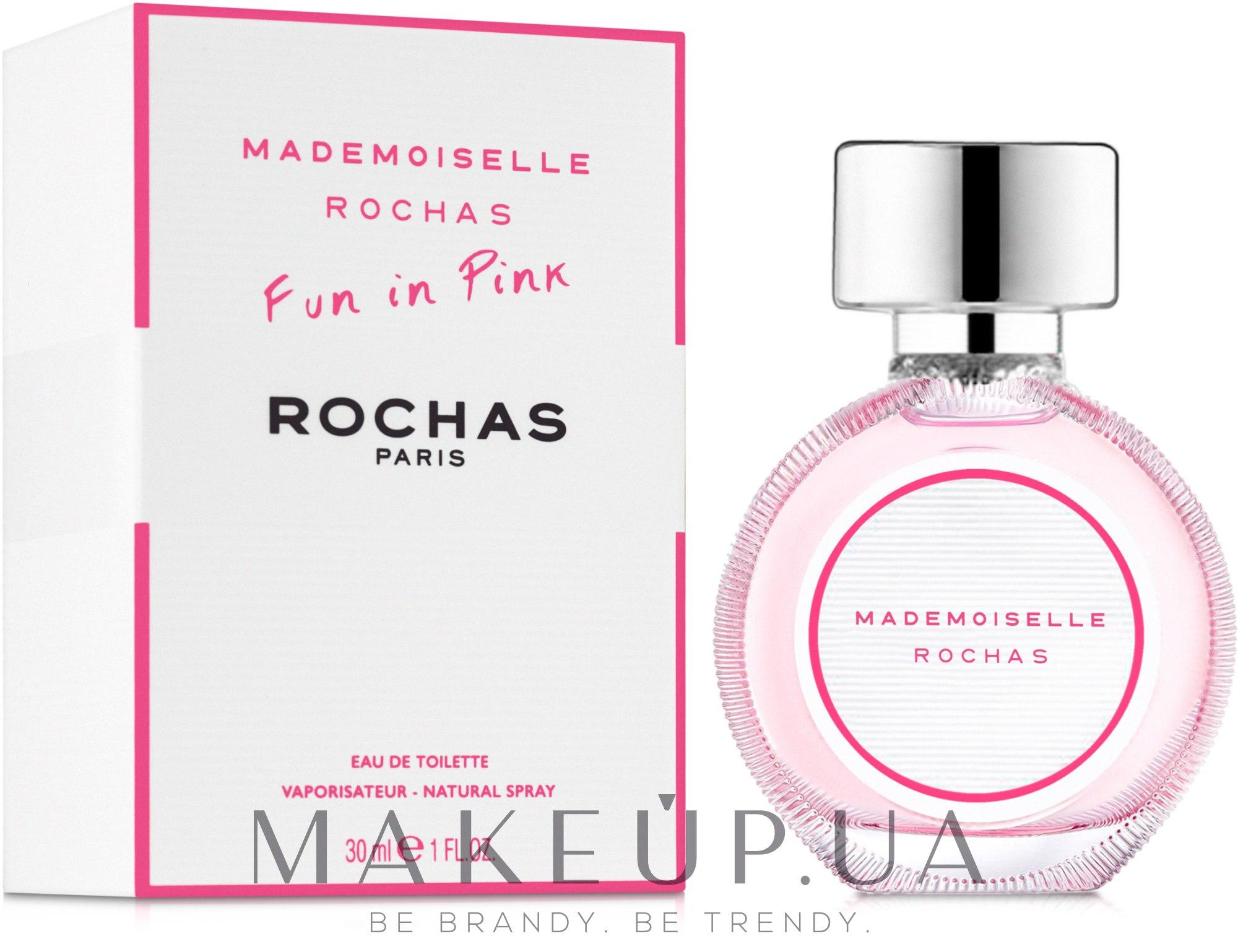 Rochas Mademoiselle Rochas Eau de Toilette - Туалетная вода — фото 30ml
