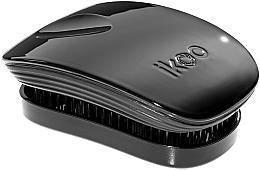 Парфумерія, косметика Гребінець для волосся - Ikoo Pocket Black Classic
