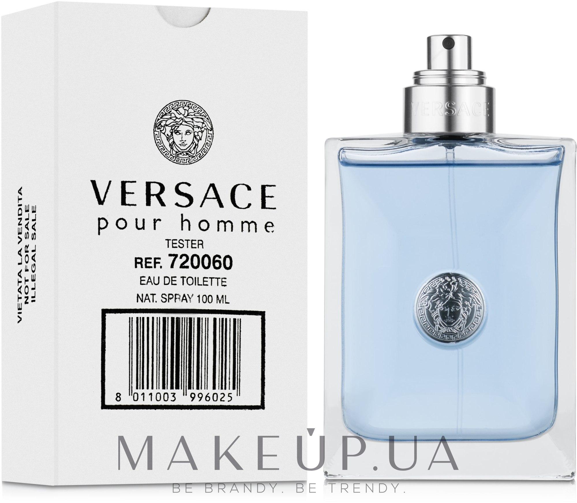 Versace Pour Homme - Туалетная вода (тестер без крышечки) — фото 100ml