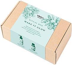 Духи, Парфюмерия, косметика Набор - Veoli Botanica Ritual Box Make It Glow (f/peel/90ml + f/mask/90ml)