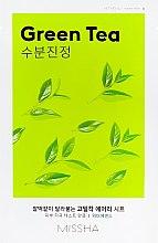 Духи, Парфюмерия, косметика Маска для лица с экстрактом зеленого чая - Missha Airy Fit Green Tea Sheet Mask