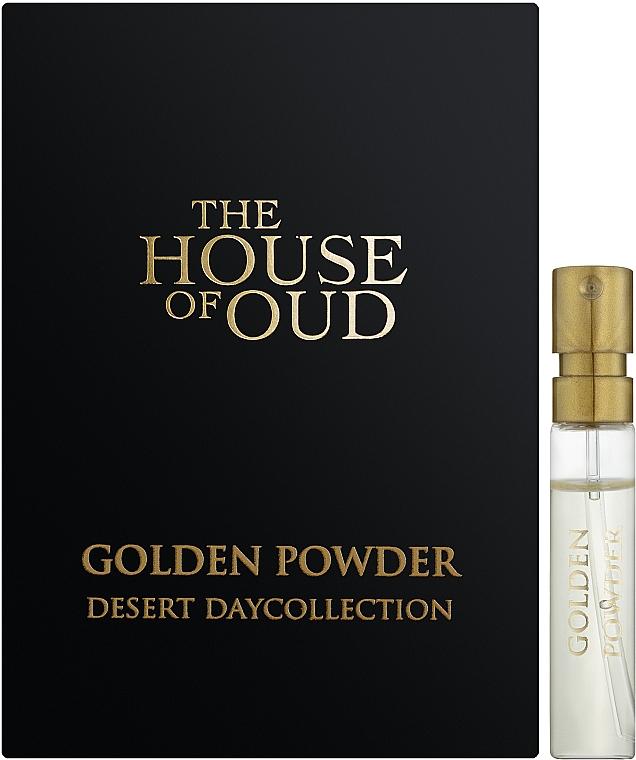 The House Of Oud Golden Powder - Парфюмированная вода (пробник)