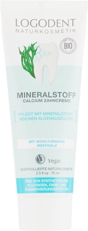 Минеральная зубная паста с кальцием - Logona Oral Hygiene Products Mineral Toothpaste