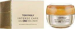 Духи, Парфюмерия, косметика Крем для лица - Tony Moly Intense Care Gold 24K Snail Cream