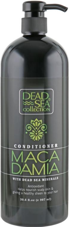 Кондиционер с минералами Мертвого моря и маслом макадамии - Dead Sea Collection Macadamia Mineral Antioxidant Conditioner