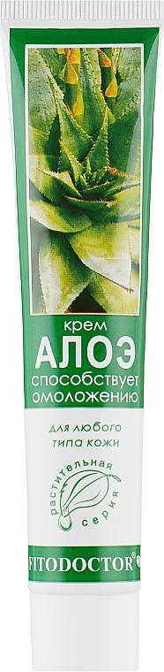 Омолаживающий крем для лица и тела «Алоэ» для любого типа кожи - Фитодоктор