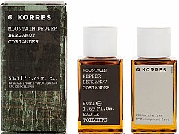 Духи, Парфюмерия, косметика Korres Mountain Pepper Bergamot Coriander - Туалетная вода