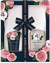 Духи, Парфюмерия, косметика Набор - Baylis & Harding Boudoire Rose Slipper Set (b/lot/140ml + b/salt/100g + acc)