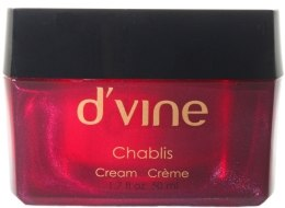 Духи, Парфюмерия, косметика Увлажняющий крем для лица с гиалуроновой кислотой - D'vine Chablis Cream