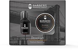 Духи, Парфюмерия, косметика Набор - Barbers Brooklyn (beard/oil/30ml + beard/balm/50ml)
