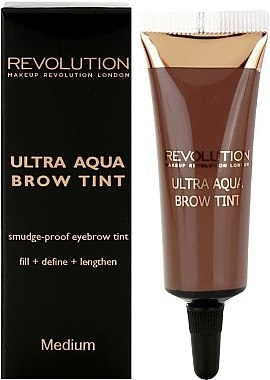 Тинт для бровей - Makeup Revolution Ultra Aqua Brow Tint — фото N1